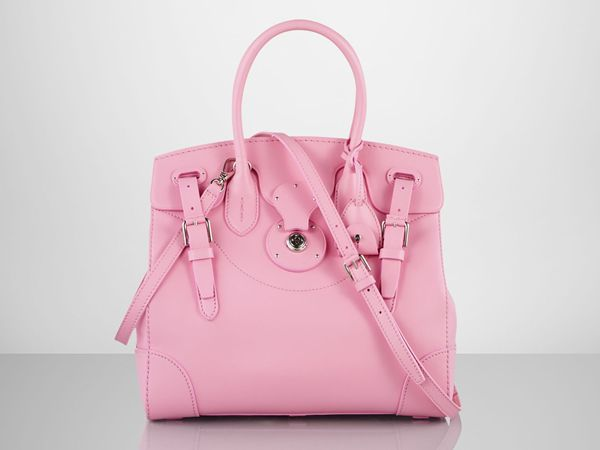 Ralph Lauren to support breast cancer fight with the Soft Ricky bag in a Pink Pony version