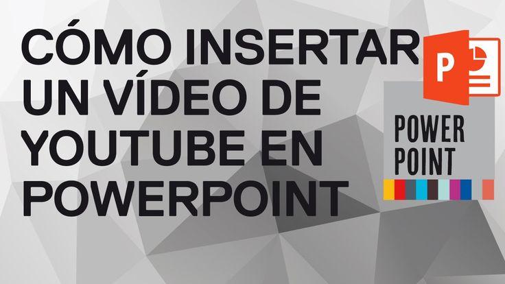 Cómo insertar automáticamente un vídeo de YouTube en PowerPoint 2010. Cr...