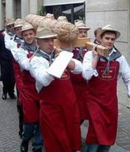 """FIERA DELLA PANCETTA   Piacenza, il cuore tra il Po e l'Appennino (Roughly """"Bacon Fair, Piacenza in the heart of the Po and the Appenines"""")"""