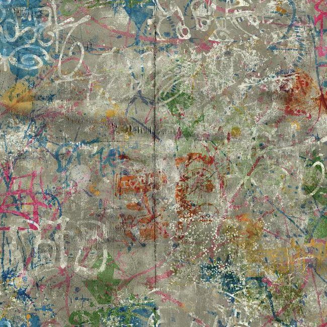 startling modern wallpaper designs. Graffiti  in imaginative designs and startling hues can bring life to drab cityscapes So too this unique varicolored wallpaper which resembles urban 362 best images on Pinterest Painted