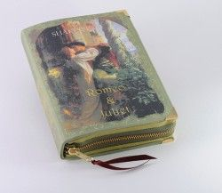 Romeo and Juliet Book Clutch by p.s. Besitos