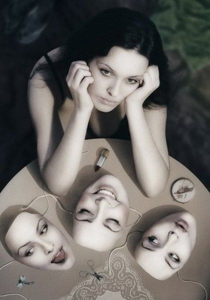 Well we all have a face That we hide away forever And we take them out and Show ourselves When everyone has gone....Billy Joel