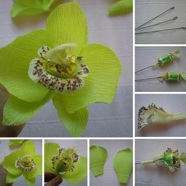 Flor De Crepom 26 Ideias Para Decoracao Com Imagens Flores De