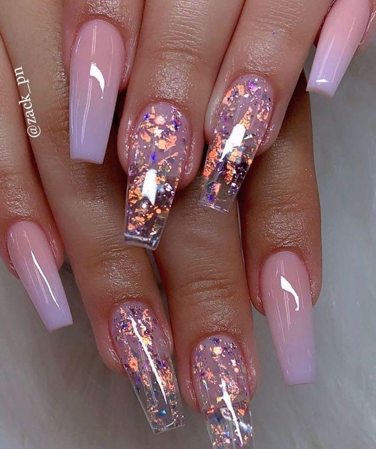 Mar 14, 2020 – Ballerina Nails. Ombre Nails. Glitter Nails. Spring Nails. – Ballerina Nails. Ombre Nails. Glitter Nails….