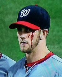 10 best images about bryce harper wall of shame on