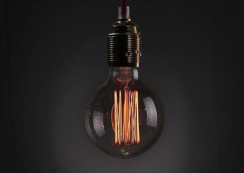 hairpin filament bulbs can really make a statement retro - Antique Light Bulbs