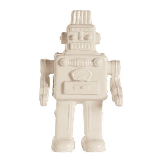 Seletti Memorabilia Porcelain My Robot Figurine | AllModern