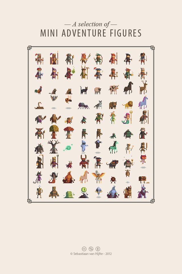I would very much like to be this good at pixel art. Artist:  Sebastiaan van Hijfte