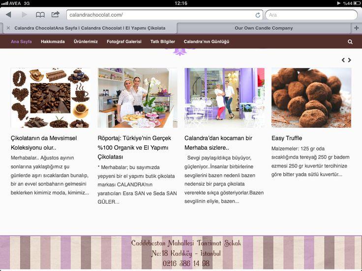 Calandrachocolat.com/calandradiary