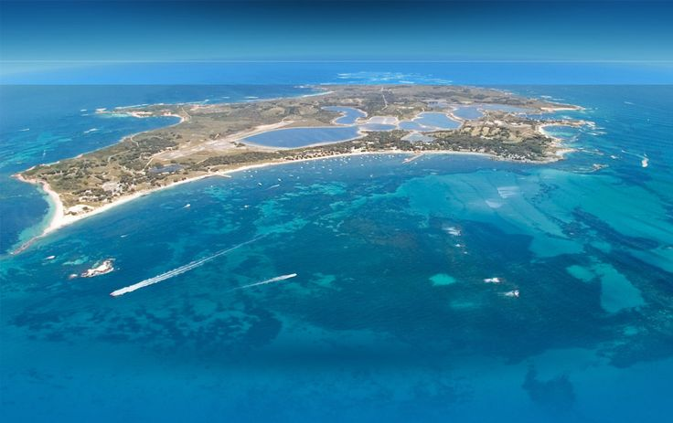 Rottnest Island off of the coast of Perth, Australia. -- I've been here!