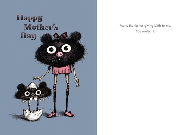 #099 Happy Mother's Day - Nailed it - Bald Guy Greetings
