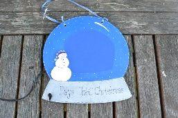 Christmas Countdown Plaques