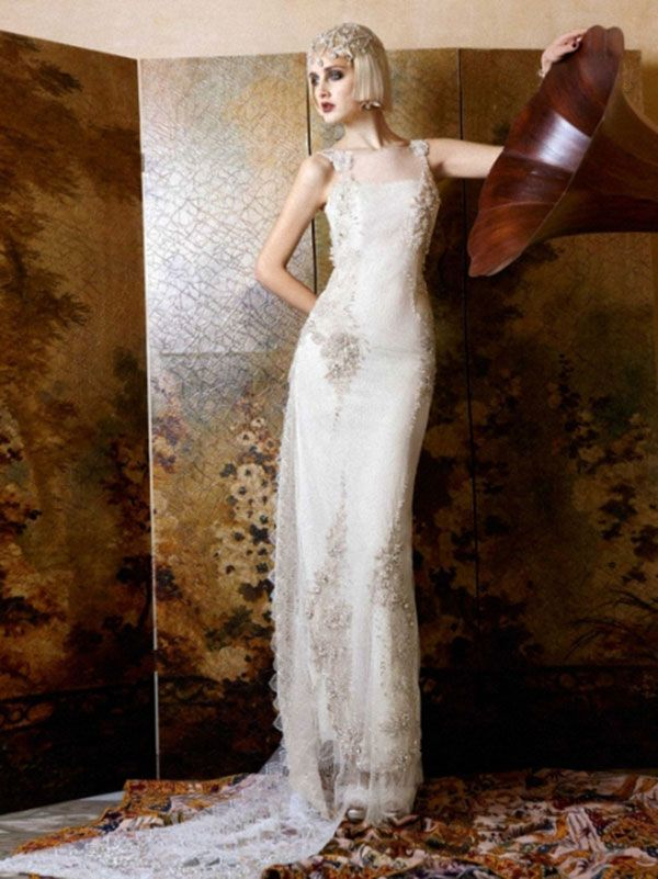 Свадебные платья в стиле ретро фото 6