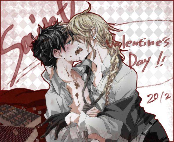 Dogma x Satoru Valentine's Day full of pero pero and choco