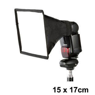 External flash softbox mini diffusers 15cm 17cm diffusers 15 17