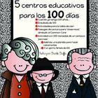 5 centros educativos para celebrar los 100 días de escuela  Este es un paquete con todo incluido para ahorrarle tiempo en el centésimo día de escue...