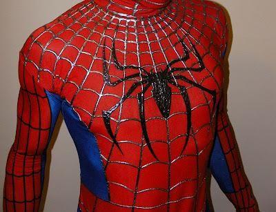 DIY Halloween : DIY Spiderman replica costume - The torso