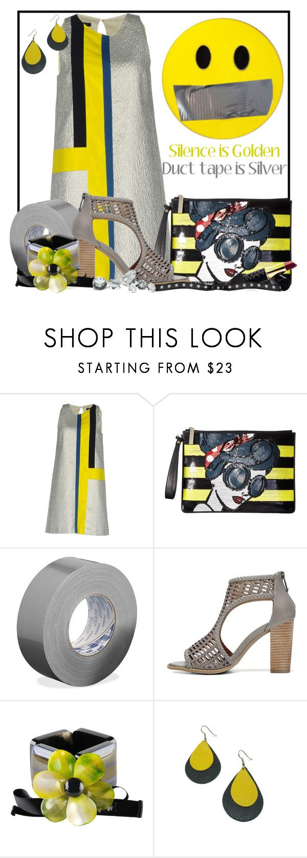 """Just sayin' . . ."" by doozer ❤ liked on Polyvore featuring Tara Jarmon, Alice + Olivia, 3M, Marni and Guide London"