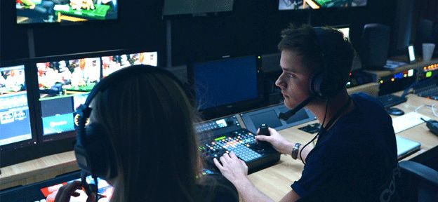 Want to work in TV? What better way to kick-start your career than by studying for a Television Production degree on a real TV station - Notts TV.