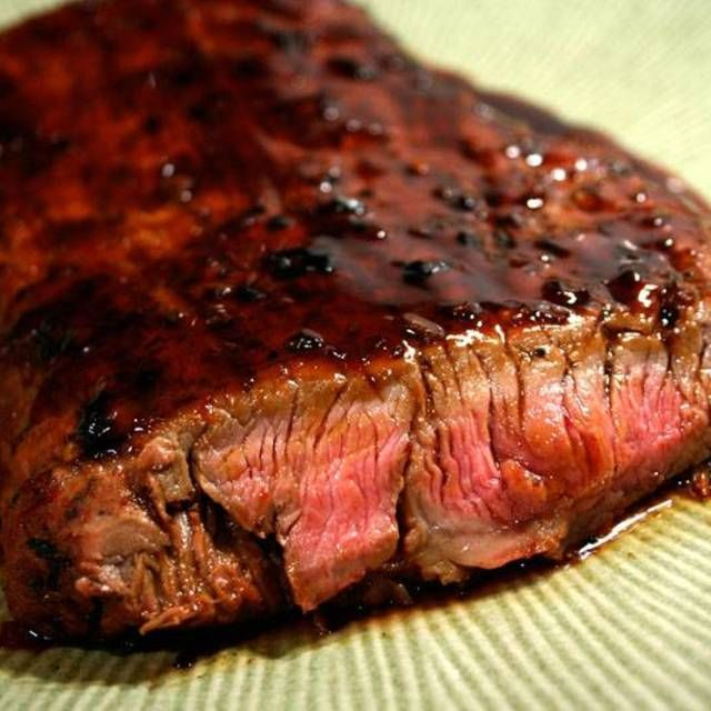 Bourbon & Brown Sugar Marinated Steak Recipe — Dishmaps