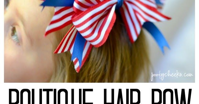 how to make a poofy bow