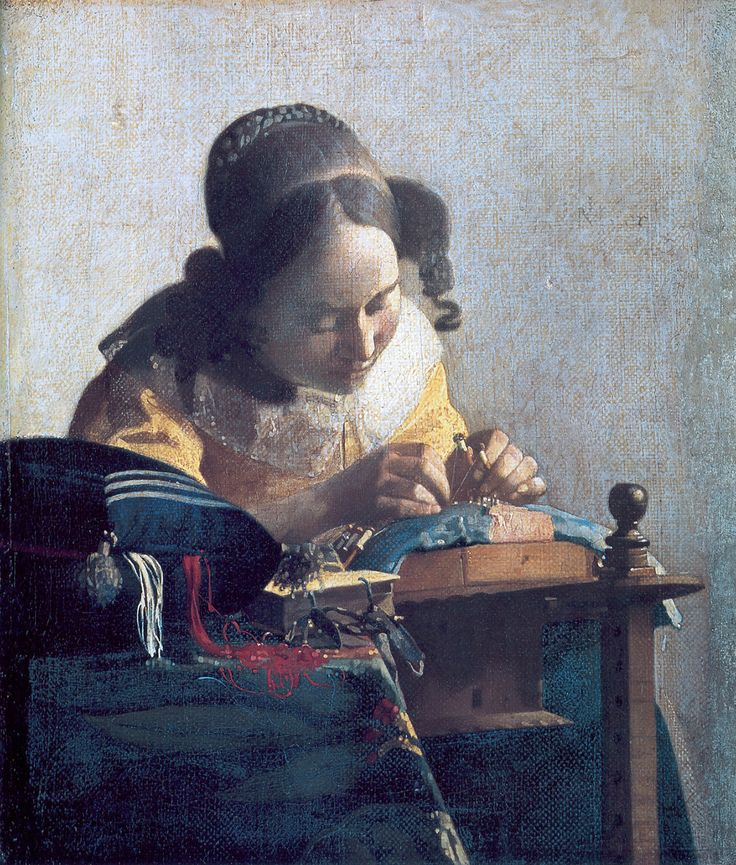 Johannes Vermeer Koronczarka, ok. 1669-1671, Luwr, Paryż