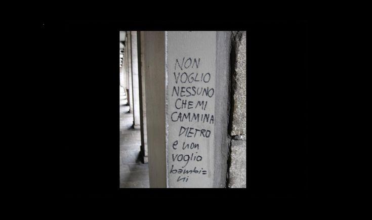 Una panoramica a caccia dei prossimi Bukowski, Bartezzaghi e Rodari. Nelle scritte sui muri