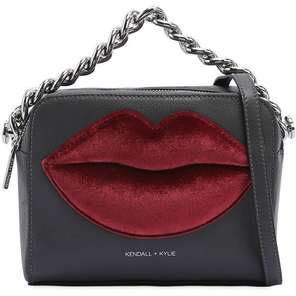 Kendall+kylie Women Lucy Snake Pebbled Leather Shoulder Bag found on Polyvore featuring bags, handbags, shoulder bags, shoulder hand bags, shoulder bag handbag, snake purse, pebbled-leather handbags and snake handbag