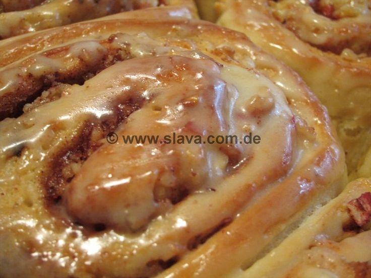 Die besten Cinnamo Buns Butterweich und saftig mit Apfel « kochen & backen leicht gemacht mit Schritt für Schritt Bilder von & mit Slava