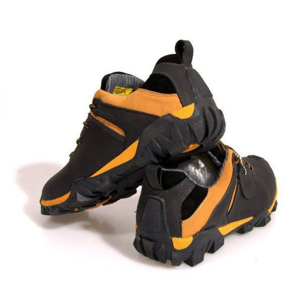 Trekkingowe Meskie Butymodne Trapery Trekkingowe Skora Nat 6254 Czarny Czarne Shoes Sneakers Vibram Sneaker
