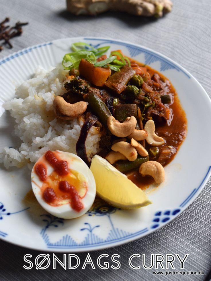 Søndag er for mange lig med restedag. Hvis du også har det sådan, så er søndags curry en oplagt mulighed for at lave din grøntsagsrester om til en lækker varmende curry. Opskriften er enkel og low fodmap venlig. Du bruger lige de grøntsager du har, så det er en fantastisk opskrift til at undgå madspild.