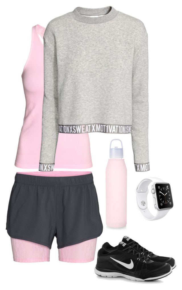 Untitled #172 by juliegodsknielsen on Polyvore featuring Apple and NIKE