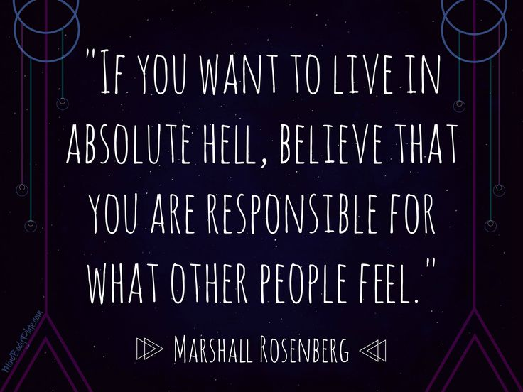 inspirational quotes | Marshall Rosenberg | non-violent communication | MindBodyPlate.com