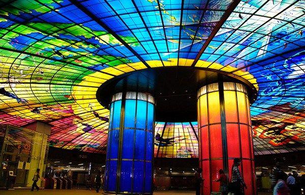 World Most Amazing Interior Design Of Subway Stations/Metro de Paris