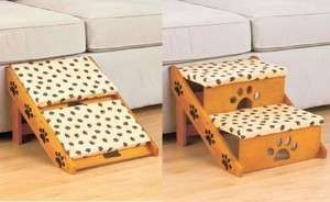DIY Dog Ramp for Beds   STEPS PET ADJUSTABLE STAIRS OR RAMP TO BED COUCH CAR FOR DOG CAT