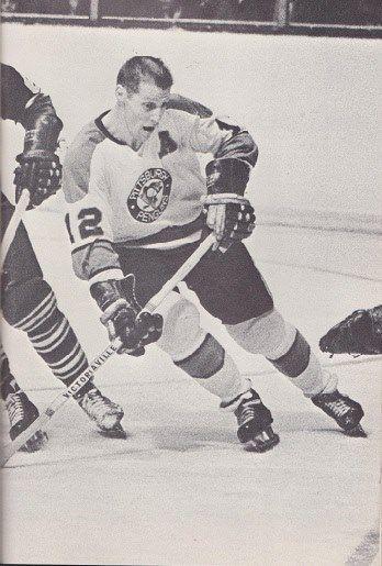 Ken Schinkel, Pittsburgh Penguins, late 1960s.
