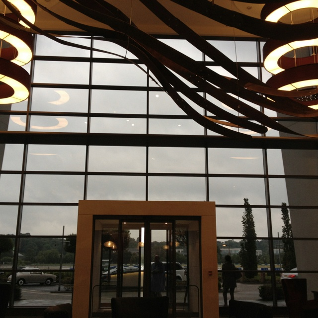 Brooklands hotel in Mercedes World