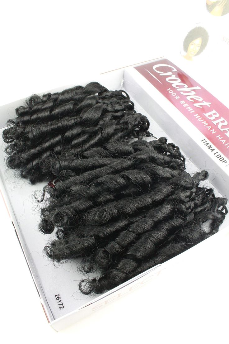 Sensationnel 100% Remi Human Hair Crochet Braids Tiana Loop