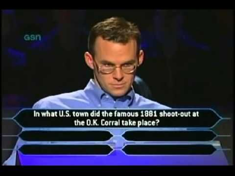 John Carpenter - Who Wants To Be A Millionaire - COMPLETE VIDEO - YouTube