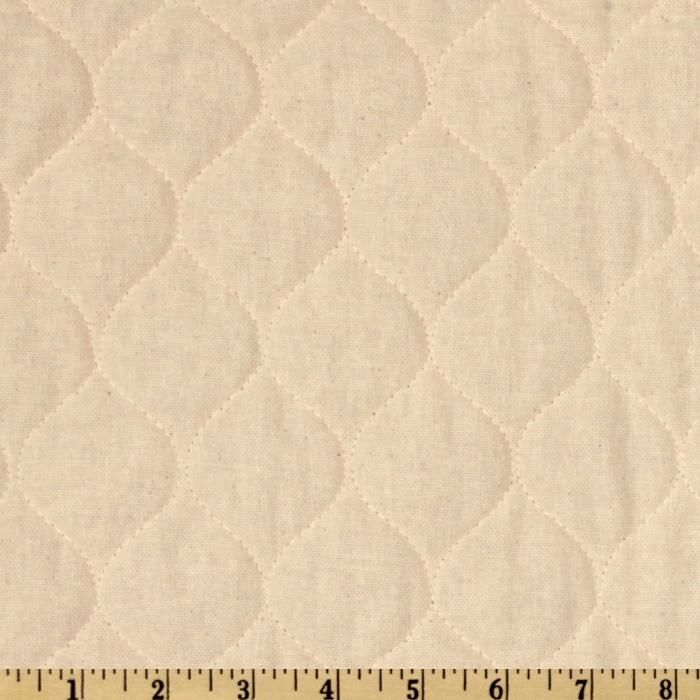 Quilted Osnaburg Natural from @fabricdotcom  This pre-quilted fabric is perfect to use for crafts, quilting and bedding. The face is cotton osnaburg fabric with 2.5 oz. polyester fill and tricot backing.