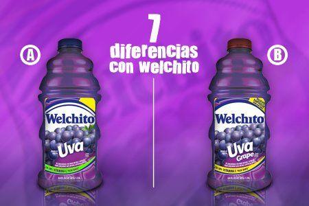 ¡Menciona las 7 diferencias de la imagen de Welchito!