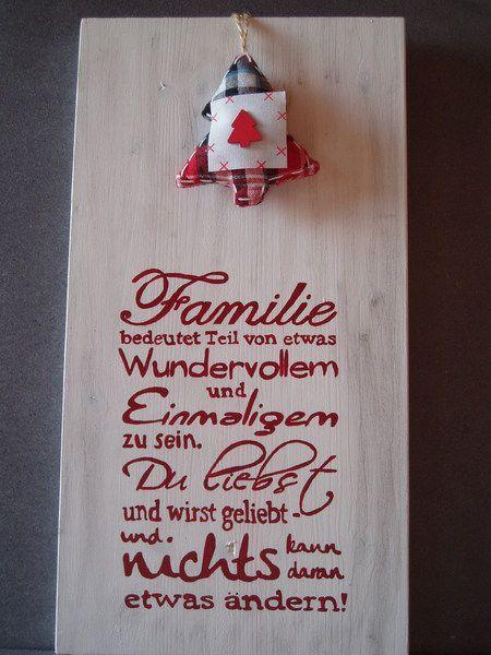 "Shabby+Chic+Schild+""Familie""+HOLZ+von+Sternschnuppes-Basteleck+auf+DaWanda.com"