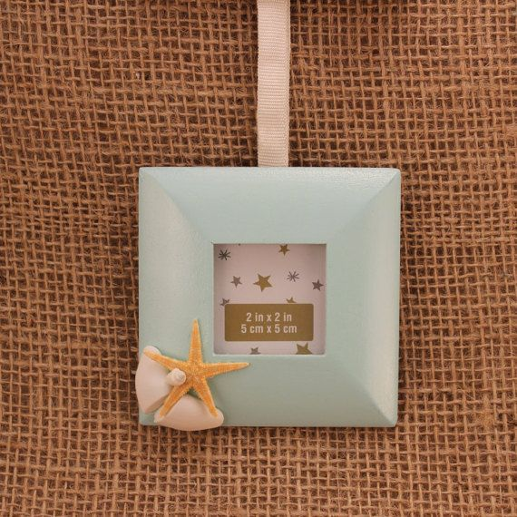 two small photo frames small picture frame seashell decorated photo frame
