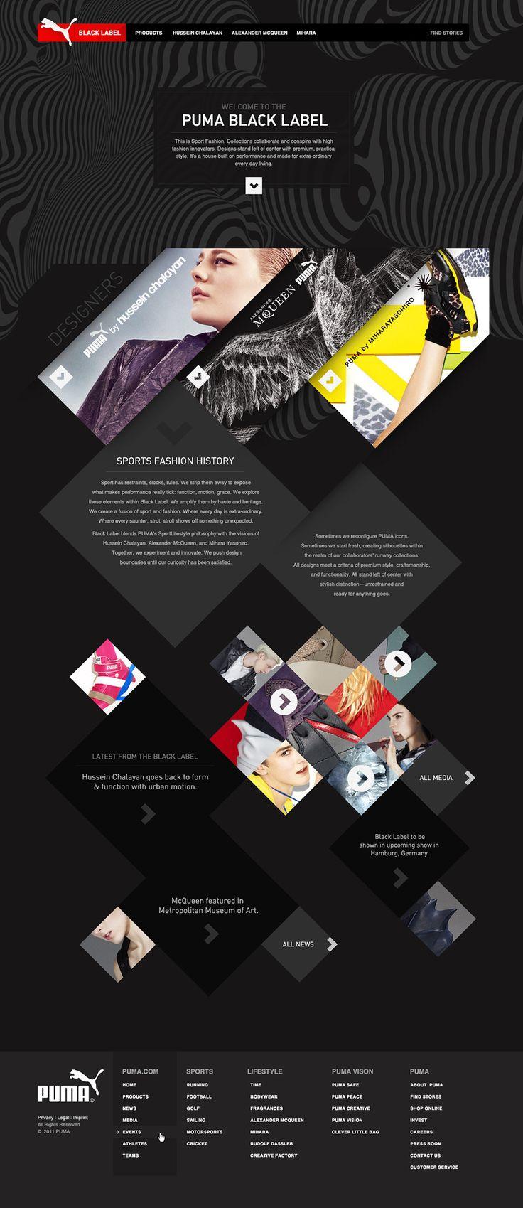 PUMA Black Label - Owen Shifflett : Design, Illustration, & Art Direction