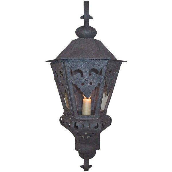Wall sconce 22 pinterest laura lee design laura lee morocco large 26 high outdoor wall lantern 1130 cad liked on polyvore featuring home outdoors outdoor lighting brown mozeypictures Image collections