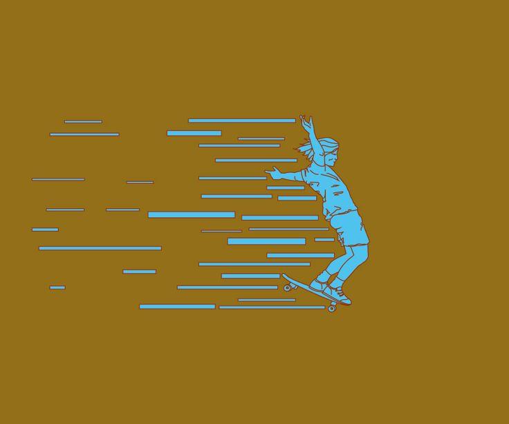 #skate, #skateart, #illustrator, #lars #arne #kringstad,
