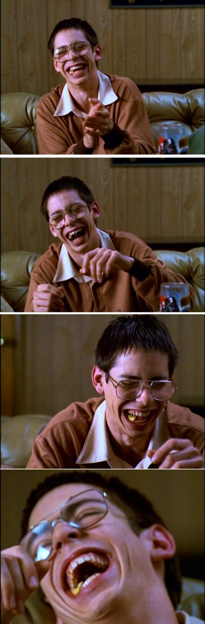 Bill Haverchuck - Freaks and Geeks. I so very much enjoyed this scene <3