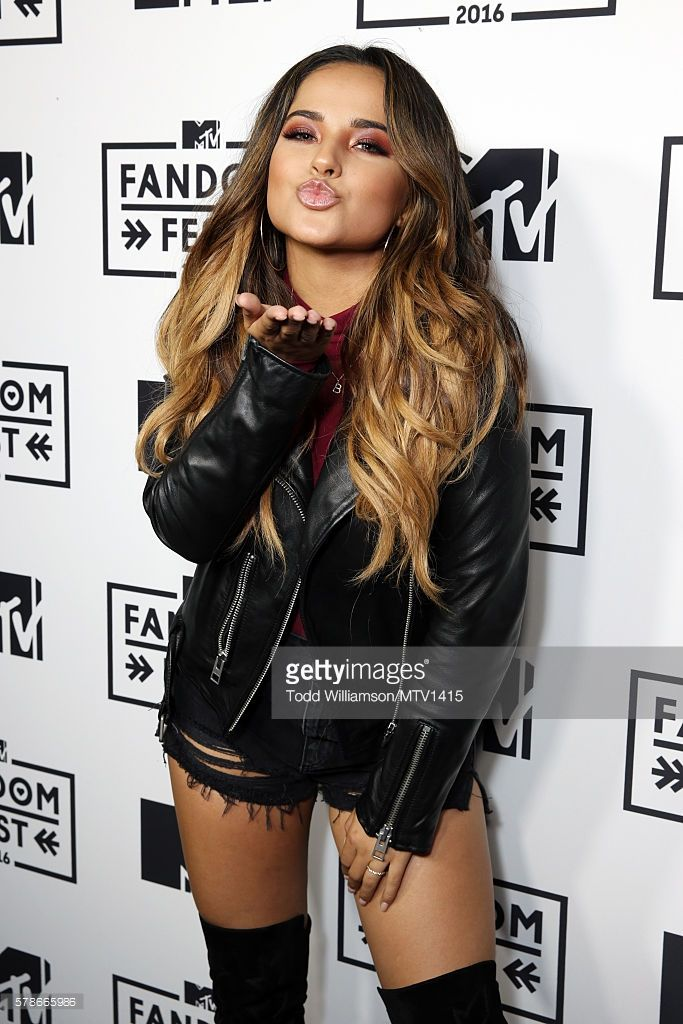 Actress Becky G. attends the MTV Fandom Awards San Diego at PETCO Park on July 21, 2016 in San Diego, California.
