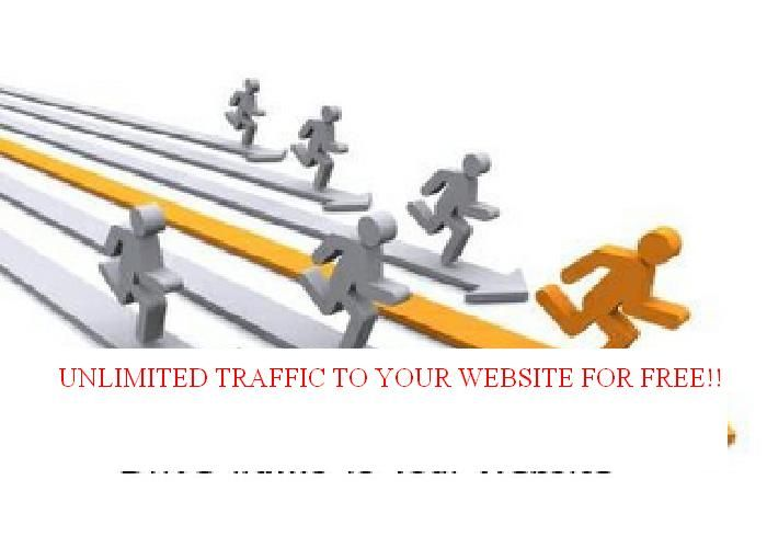 antty24: teach you how to get unlimited traffic for $5, on fiverr.com