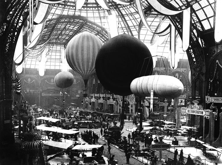 Salon de Locomotion Aerienne Grand Palais, Paris, 1909